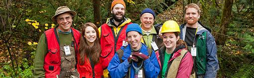 Happy Friends of Trees crew leaders